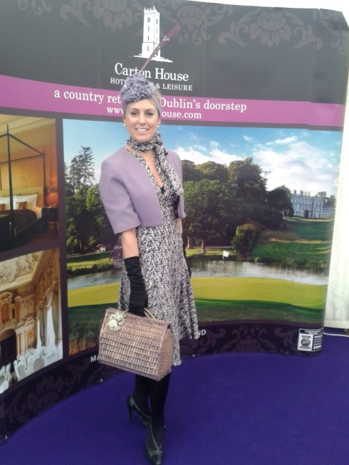 Paula Lawlor at Fairyhouse Races