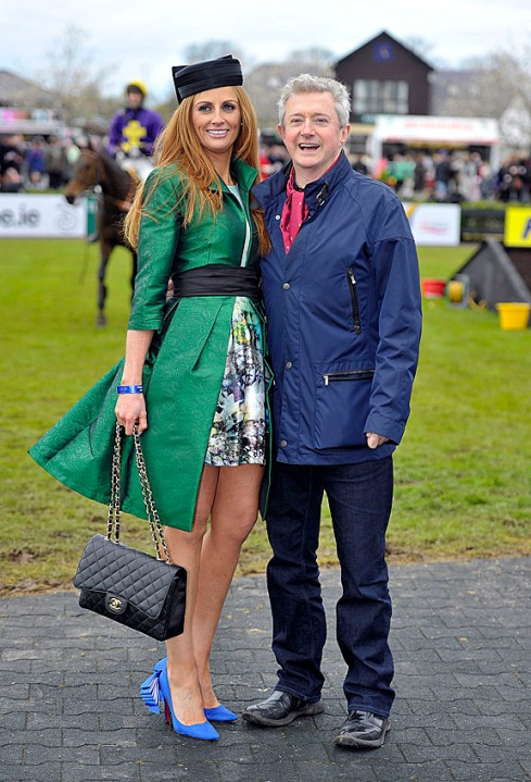 Jennie Pierce Coast's OVERALL Best Dressed Lady with Louis Walsh