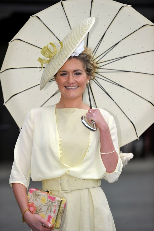 Naoise Pelin winner of the first day Coast Best Dressed Lady