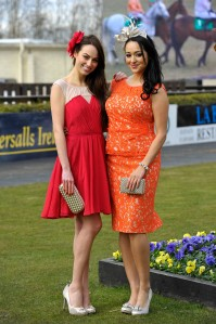 Models Tara Talbot and Daniella Moyles hit the racecourse wearing the latest styles from Coast's Spring Summer collection. Coast will be sponsoring the 'Best Dressed Lady' competition for the second year running at the Punchestown Racing Festival which runs from 23rd to 26th April.