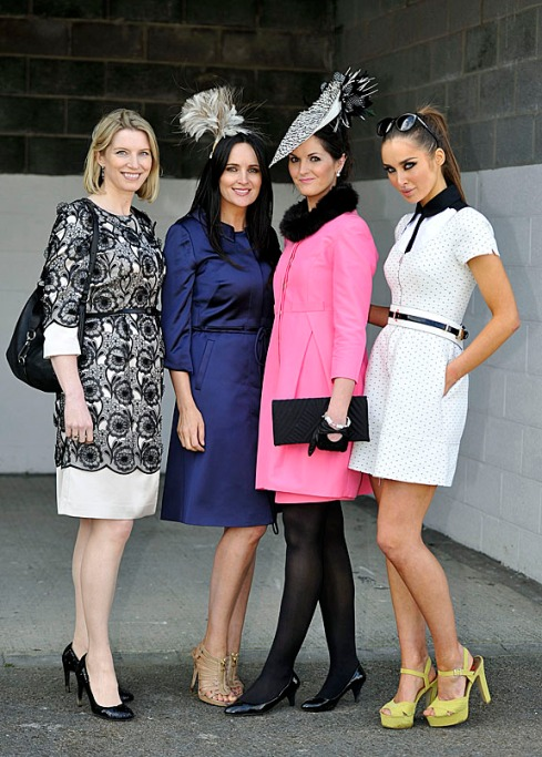 Emer from Limerick was the deserving winner of Coast's Best Dressed Lady competition on the opening day of the races, as she sported a bright pink Orla Kiely coat and dress from Platform Boutique in Newcastle West Co. Limerick, teamed with a current season Coast clutch bag and bracelet. Emer wore gloves from Penneys that added a unique twist to her look, and her headpiece was from Aristohats. Emer, 31, works in Finance and attended today's races with her uncle.