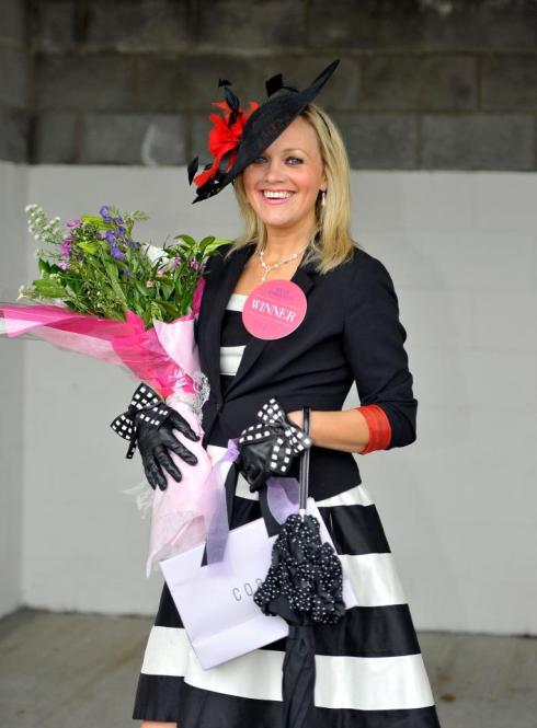 Winner Alright - Garda & Lucan lady Rebecca Daly is the Coast Best Dressed Lady today!