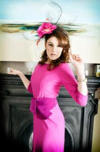 Ladies Day Photoshoot Pink Dress