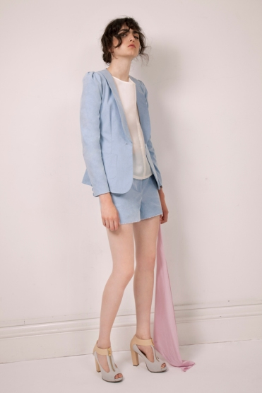 Silk-organza-top-€180-blue-canvas-shorts-€125-short-suit-jacket-€260